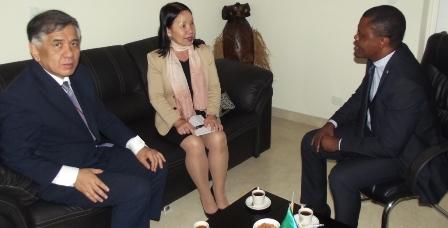 Actividades de la Embajada de Guinea Ecuatorial en Caracas.