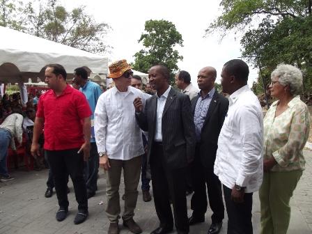 Visita de la Delegación de Guinea Ecuatorial a San Mateo.
