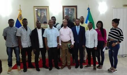 Secretario de Estado de la República de Guinea Ecuatorial sostuvo encuentro con estudiantes universitarios de la Nación Ecuatoguineana en Venezuela.