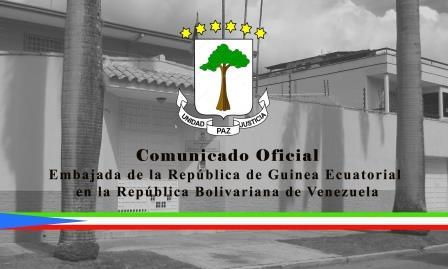Comunicado Oficial de la Embajada