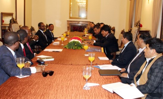 Bolivia y Guinea Ecuatorial firman cinco acuerdos de cooperación bilateral
