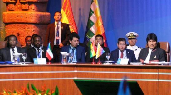 Representantes de 12 naciones participan de la cumbre de países exportadores de gas