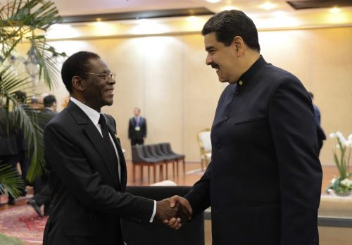 Maduro sostuvo encuentro con presidente de Guinea Ecuatorial