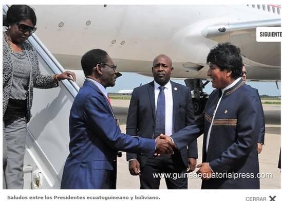 Viaje presidencial a Bolivia