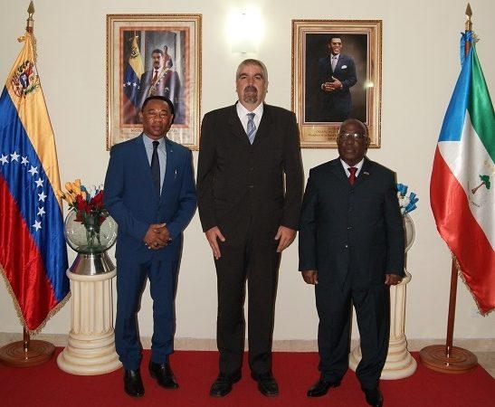 Viceministro para África Yuri Pimentel visitó Embajada de Guinea Ecuatorial en Venezuela
