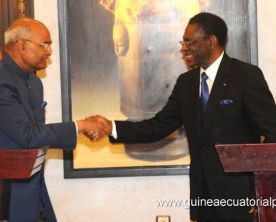 Firma de acuerdos de cooperación entre Guinea Ecuatorial y La India