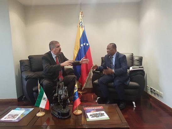 Encuentro con los Viceministros para África y de Transportes
