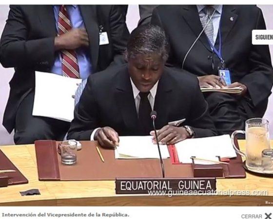 El Vicepresidente asiste a los debates sobre el Consejo de Paz y Seguridad de la ONU