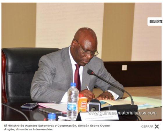 Consejo Directivo en el Ministerio de Asuntos Exteriores