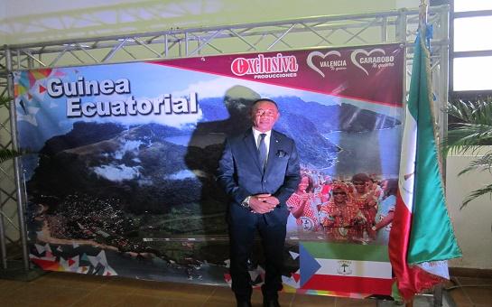 Guinea Ecuatorial en Venezuela mostró sus potencialidades en la Expo Valencia 2018
