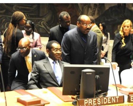 El Presidente ha dirigido el debate sobre Paz y Seguridad en África