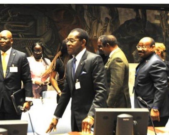 Discurso del Jefe de Estado al asumir la presidencia del Consejo de Seguridad de Naciones Unidas