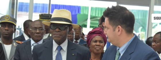 El Presidente inaugura la nueva terminal del Aeropuerto Internacional de Mongomeyen