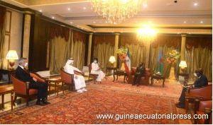Audiencia presidencial con el Príncipe de los Emiratos Árabes