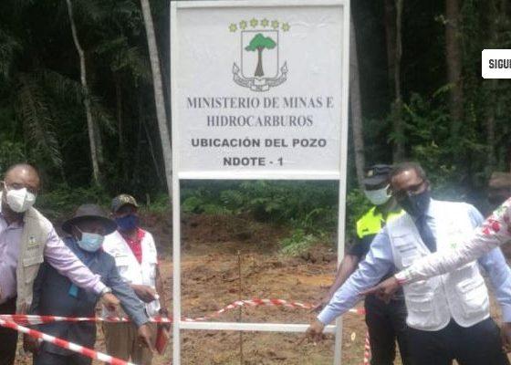 El Ministerio de Minas encuentra el primer pozo petrolífero perforado en tierra en Guinea Ecuatorial
