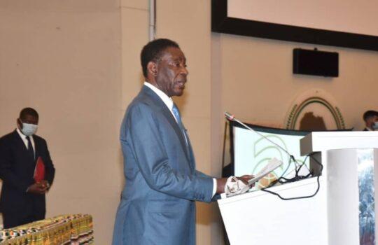 El Jefe de Estado preside la apertura de un Simposio de la ACP en Malabo